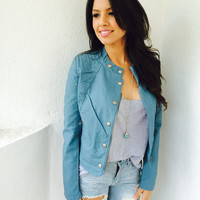 Teala Leather Jacket