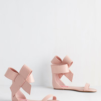 Posh Star Sandal in Blush | Mod Retro Vintage Sandals | ModCloth.com