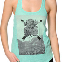 Empyre Air Rose Mint Tank Top