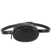 Haley Belt Bag in Black