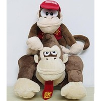 "6-9"" Diddy Kong and Donkey Kong Plush 2pcs"