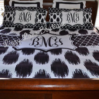 Custom Personalized Monogrammed King Duvet by LizzyLaneBoutique