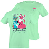 Simply Southern Preppy Follow Your Arrow Fox T-Shirt