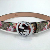 NEW FASHION CLASSIC FENDI LEATHER BELT MEN WOMEN BELTS