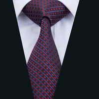 New Arrival Barry.Wang Fashion Men`s Tie Novelty NeckTie Silk Jacquard Ties For Men Business Wedding Party