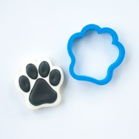 Dog Paw Cookie Cutter