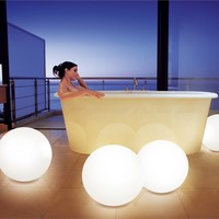 Floor lamp Low Voltage Polyethylene NOMAD SMOON Smoon Collection by Beau & Bien