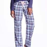Old Navy Patterned Flannel Pants