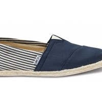 University Navy Rope Sole Men's Classics