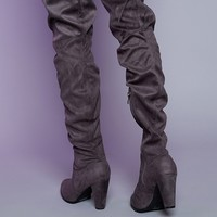 Therapy Ambrose Boots Grey