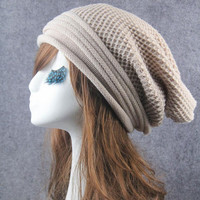 New Fashion Women  Beanie Hat Knit Warm   Hat For Women Skullies Beanies For Female Gorros mujer Inverno GS