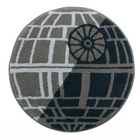 Star Wars Death Star Bath Rug (Blue)