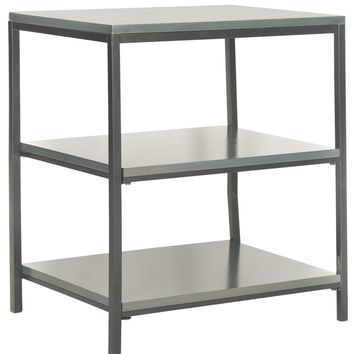 Zeke 3 Tier Shelf Unit Steel Teal