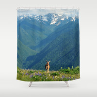 Nature's Calling Shower Curtain by RDelean