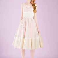 Vintage Right on the Rose Dress