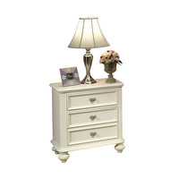 Athena White Finish Nightstand | Overstock.com Shopping - The Best Deals on Kids' Nightstands