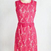 Mid-length Sleeveless A-line Cocktail Hour Chic Dress
