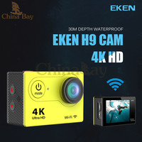 Ultra HD 4K Action Camera 30m waterporoof 2.0' Screen 1080p sport Camera go extreme pro