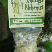 Frankincense resin, Incense making, raising energy, exorcism, cleansing, ritual incense, purification, healing spells, sun god offering