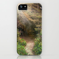 Walk With Me iPhone & iPod Case by Jenndalyn