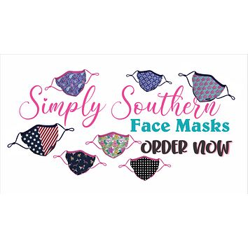 Simply Southern Washable Face Mask