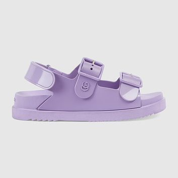 GUCCI Women's sandal with mini Double G