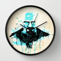 "[Im] [Da] [Dn] [Gr] ... ""I am the Danger"" [Heisenberg] Wall Clock by Emiliano Morciano (Ateyo)"
