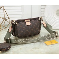 shosouvenir Louis Vuitton LV Crossbody Shoulder Bag Set  Ordinary quality