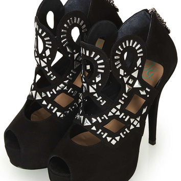**Charmed Booties By CJG - Topshop USA