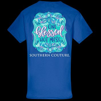Southern Couture Classic Blessed Hot Mess T-Shirt