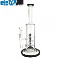 "USA 13"" GRAV LABS FLARE STEMLESS SHOWERHEAD 14MM"