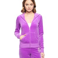 Logo Velour Juicy Lace Cameo Original Jacket by Juicy Couture