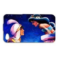 Cute Aladdin Phone Case Disney Romantic Cover iPhone Hot Cover Blue Sky Cool Fun