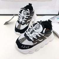 Versace Child Girls Boys shoes Children boots Kids Fashion Casual Sneakers Sport Shoes