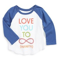 Infant Girl's Peek 'Infinity' Tee,
