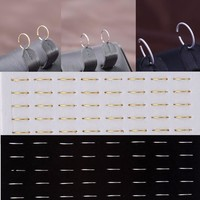 LNRRABC 1 sheet / 40 pcs Women Fashion choker choker Fake Nose Ring Hoop Nose Stud Rings Body Piercing Jewelry For Women