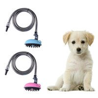 Multifunctional Pet Dog Cat Bath Shower Head Pet Animals Water Sprayer Cleaning Bathing Pet Massage Device For Dogs Dropshipping