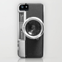 Old School Camera Phone iPhone5 case - Also available as iPhone4 case and skin iPhone Case by Nicklas Gustafsson | Society6