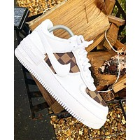 LV NIKE Air force one Fashion casual shoes-1