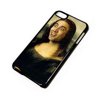 NICHOLAS CAGE MONALISA 2 iPod Touch 6 Case Cover