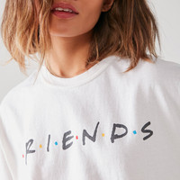 Friends Logo Tee | Urban Outfitters