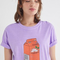 Orange Juice Box Tee | Urban Outfitters