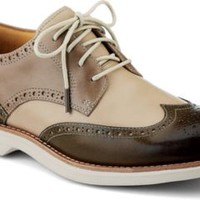 Sperry Top-Sider Gold Cup Bellingham ASV Wingtip Oxford Brown/Ivory/TaupeLeather, Size 8.5M  Men's Shoes