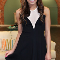 Sheers to You Dress - Black