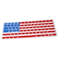 TCD for Apple MacBook Pro [13 15 17 INCH DEVICE] LIFETIME WARRANTY Soft Silicone [USA AMERICAN FLAG] Keyboard Cover Skin [Protects against liquid damage and dust collection]