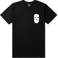 Kings Of NY Ski Mask Chest Logo New York Hood T-Shirt