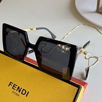 Fendi Fashion Woman Summer Sun Shades Eyeglasses Glasses Sunglasses 0318
