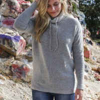 Vale Sweater, Heather Grey