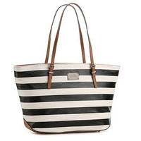 Nine West Striped It Girl Tote
