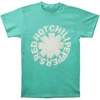Red Hot Chili Peppers Men's  Sketch Asterisk T-shirt Green